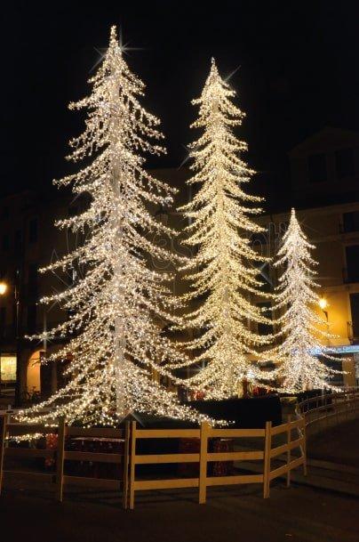 Luminarie natalizie Albero Stilizzato 12mt
