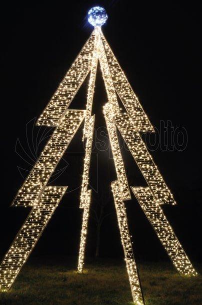 Luminarie natalizie Albero a spicchi 6,80mt