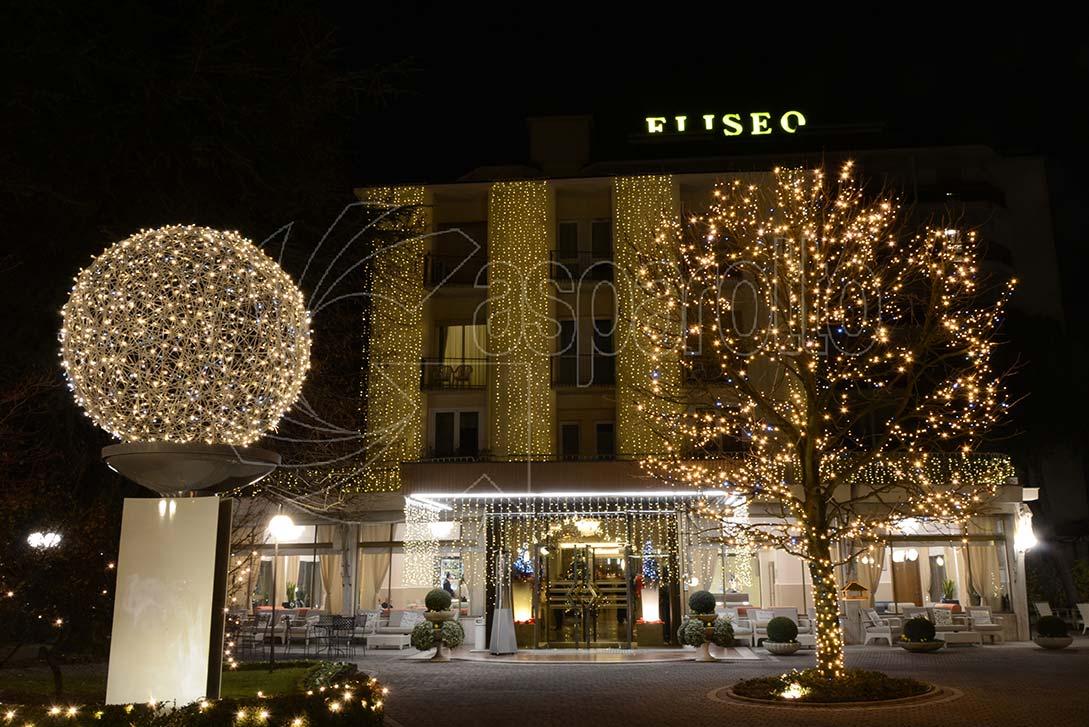 Luminaria da esterno per hotel