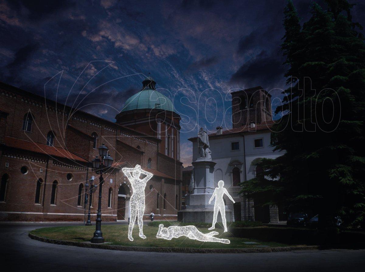 Statue luminose